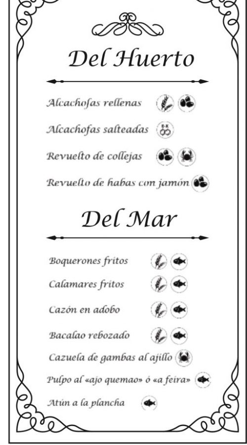 Comida típica de Priego de Córdoba